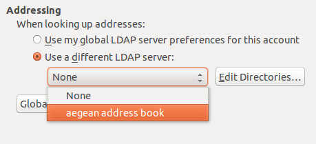 ldap address book 5